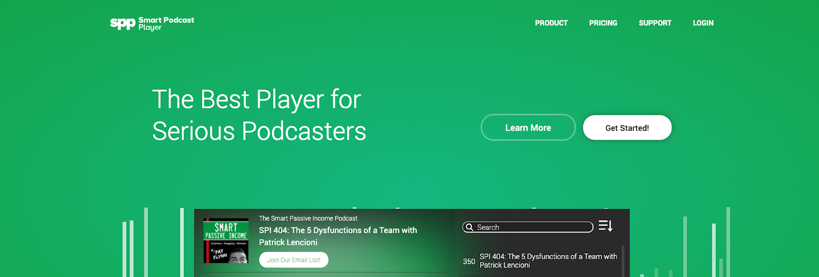 Best WordPress plugins in 2020: Smart Podcast Player