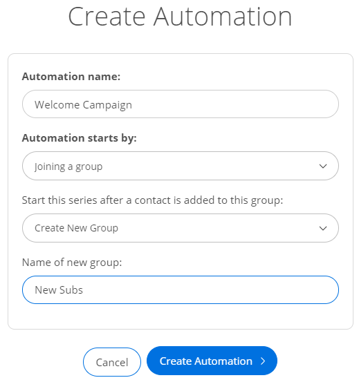 Screenshot showing Sumo Automation settings