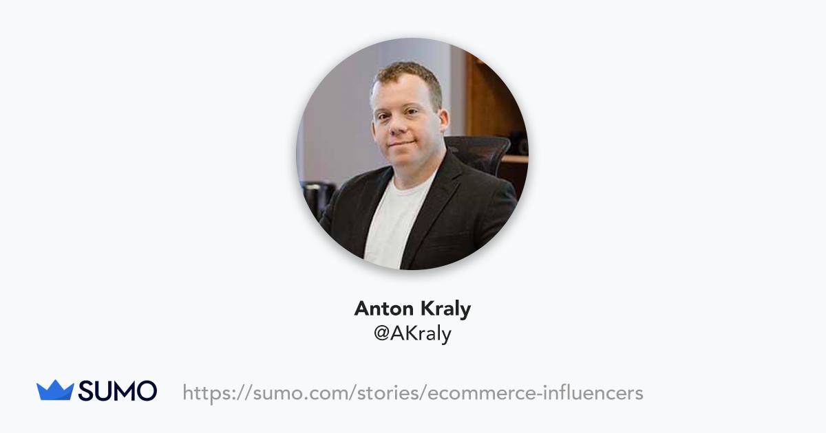 Screenshot of Anton Kraly