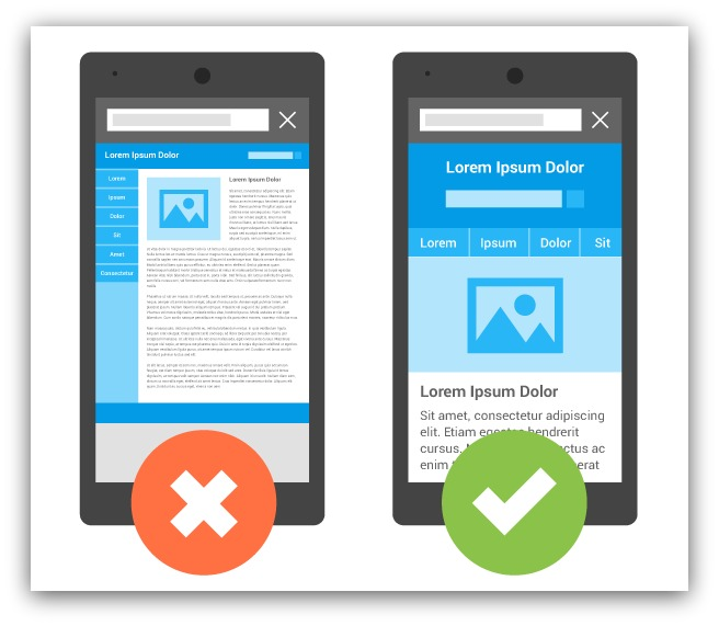 Google Mobile Accepted vs Not