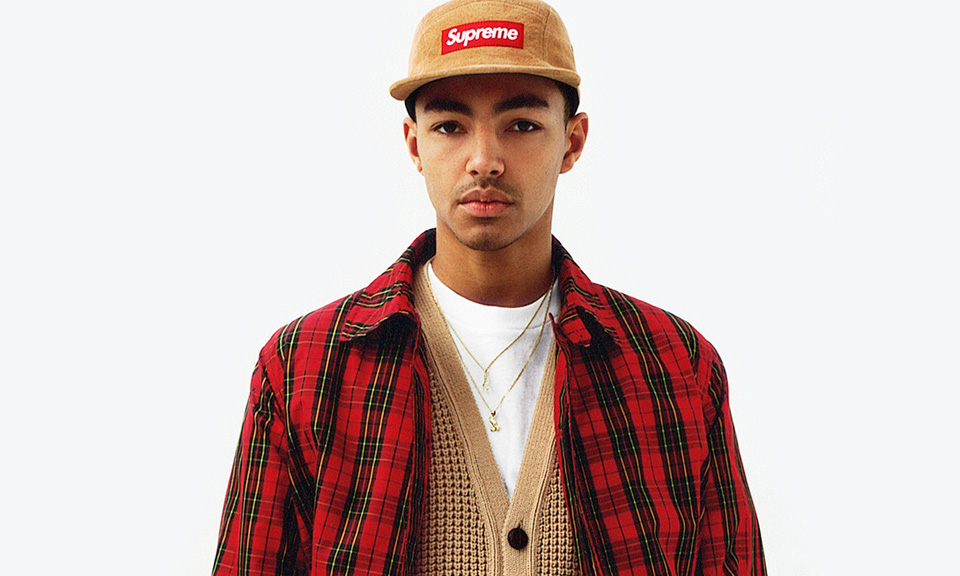 Photo of a man wearing Supreme clothing