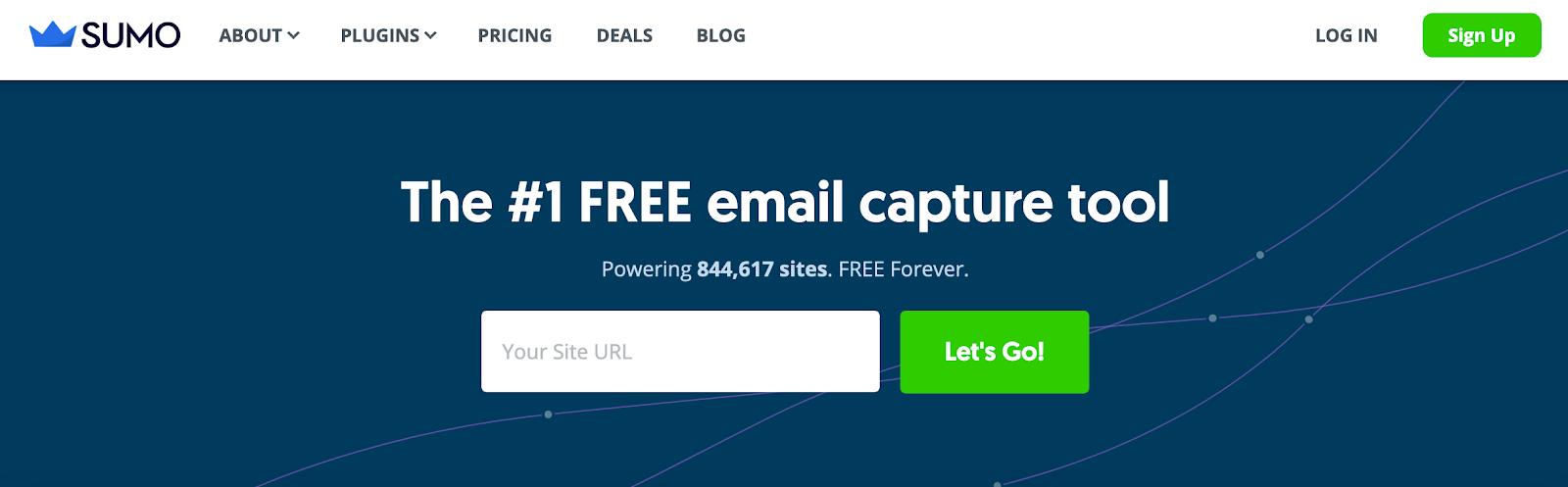 Best Homepages Online - Sumo.com