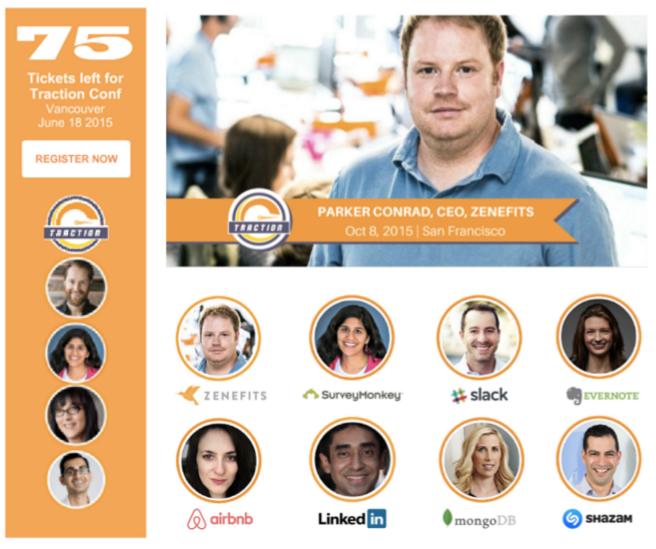 Screenshot showing a bunch of CEOs