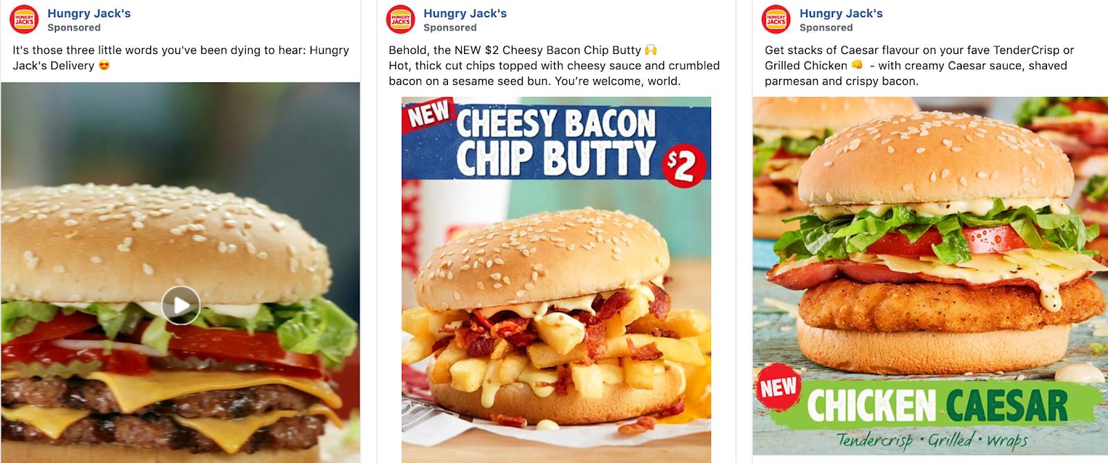Global Marketing Strategy: Screenshot of Hungry Jack