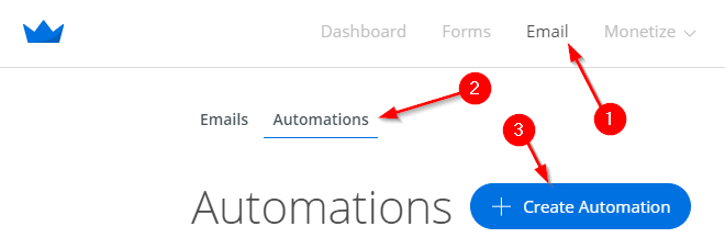 Screenshot showing how to set up Automations on Sumo