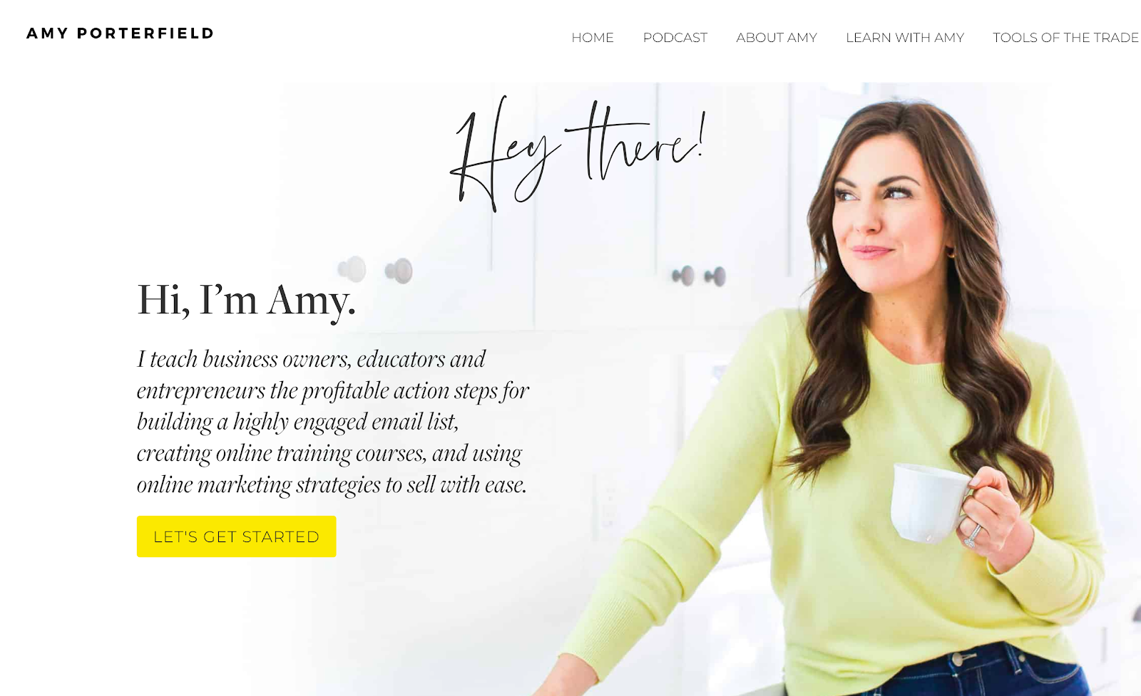 Best Homepages Online - Amy Porterfield