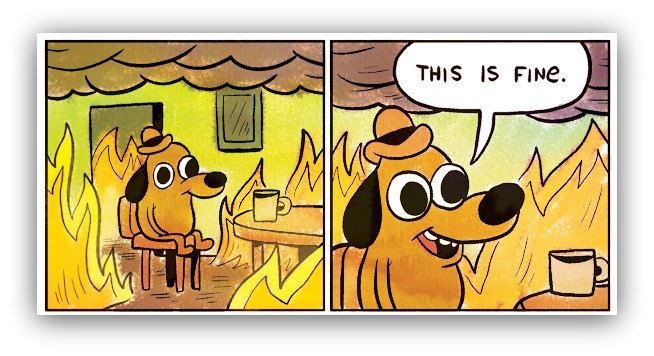this is fine comic