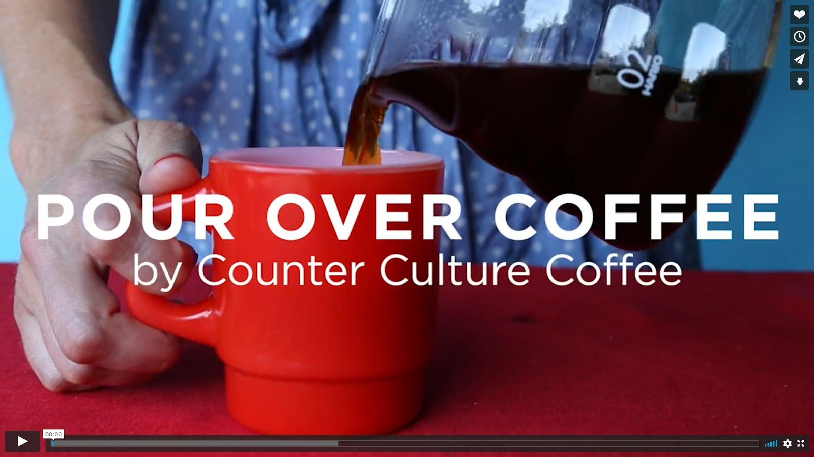 Counter Culture Coffee offers excellent free online guides