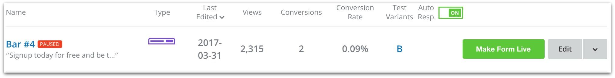 Screenshot showing stats on the sumo dashboard