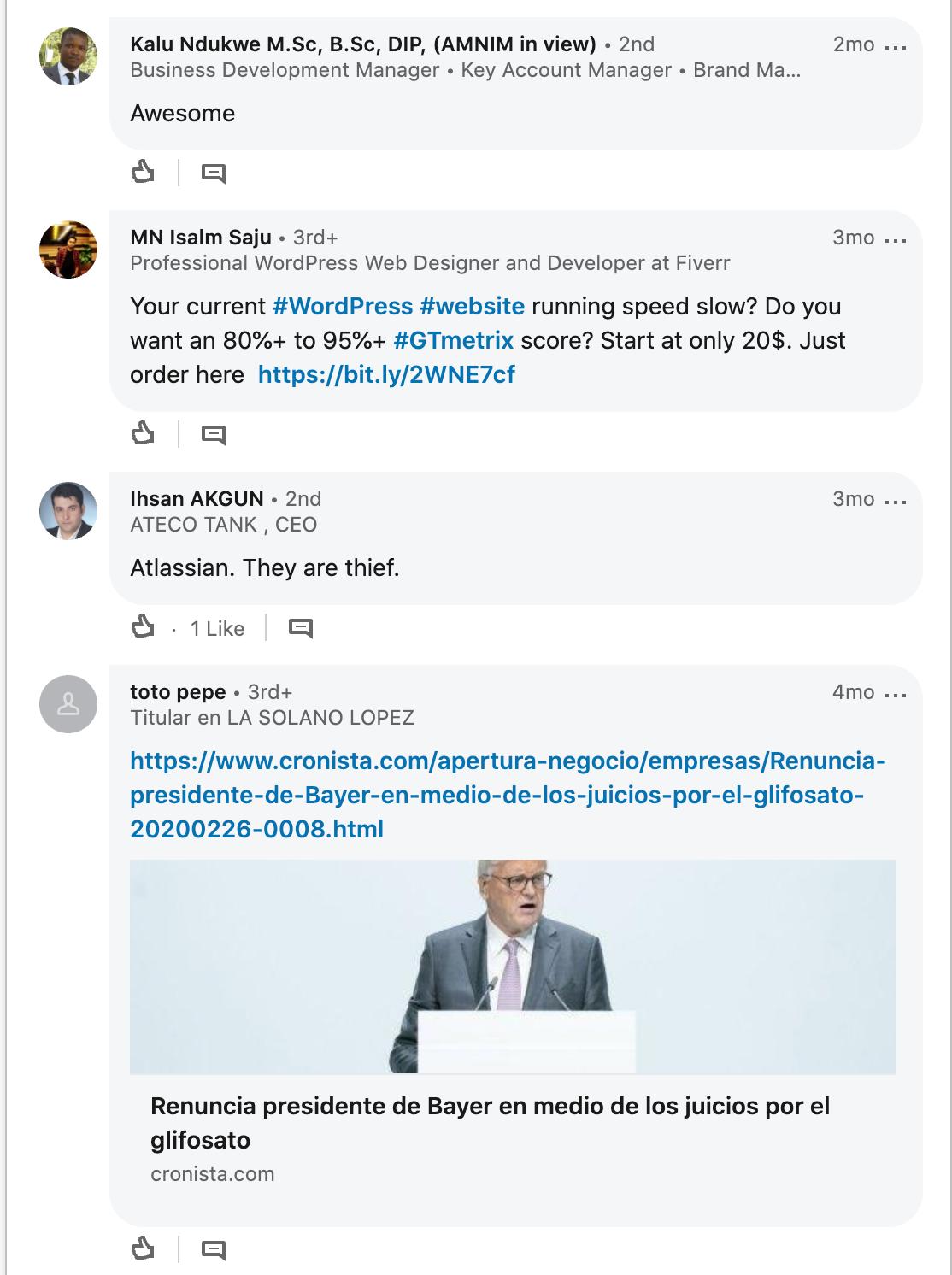 AtlassianSpam ads