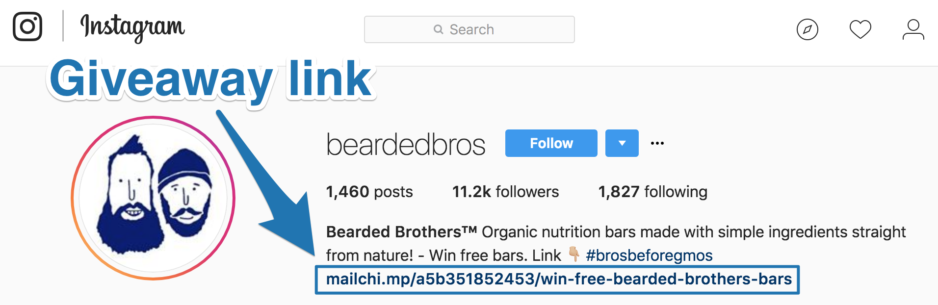 Screenshot showing the bearded brothers