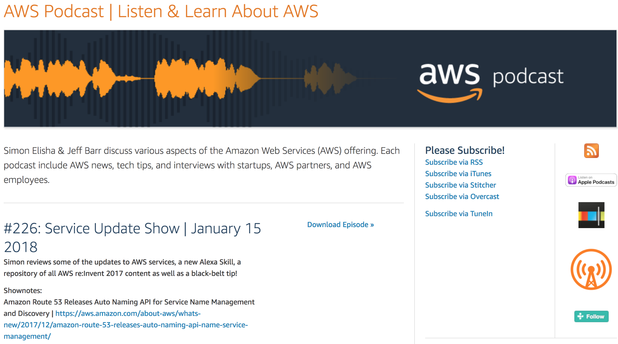 Screenshot showing aws