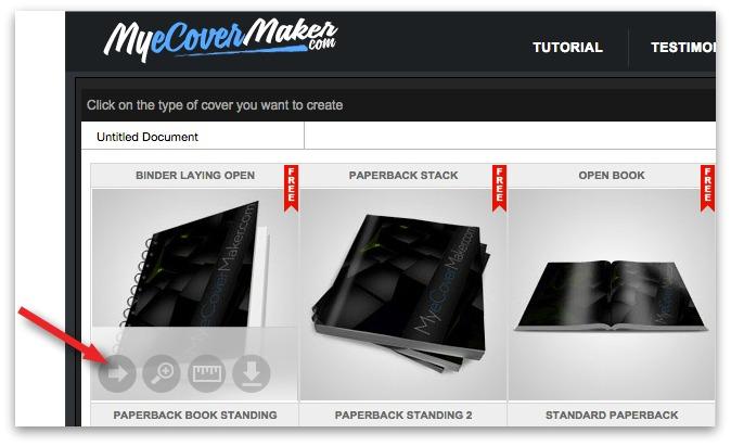 mycovermaker.com templates