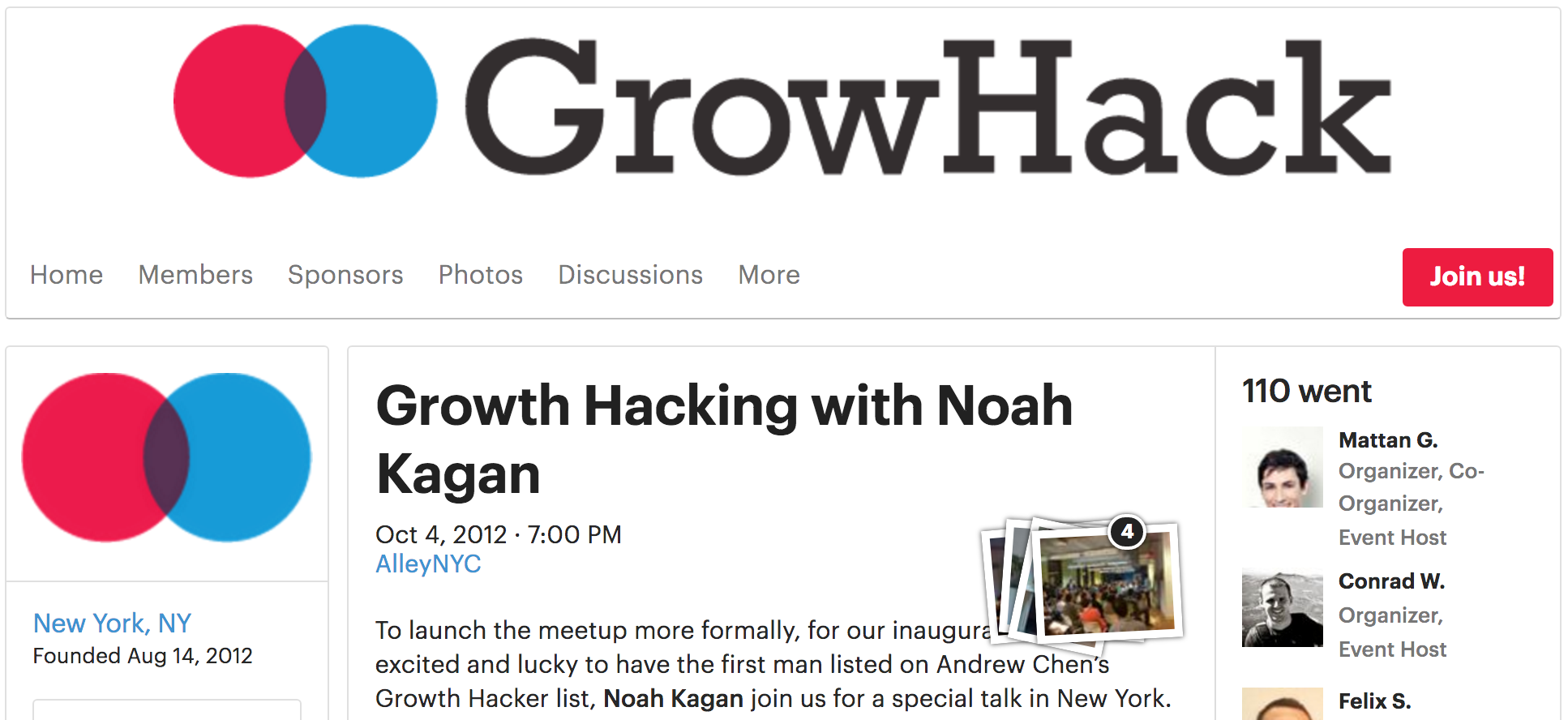Screenshot of a GrowHack article featuring Noah Kagan