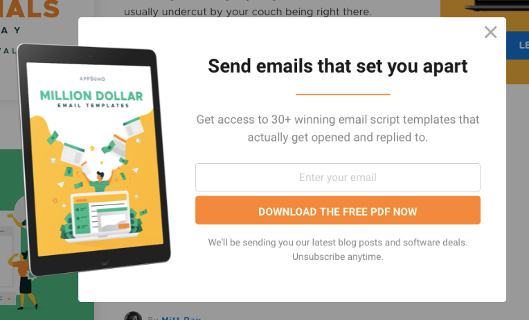 Million-Dollar Email Templates PDF.