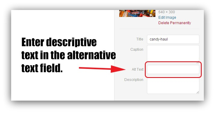 how to use alt text for SEO
