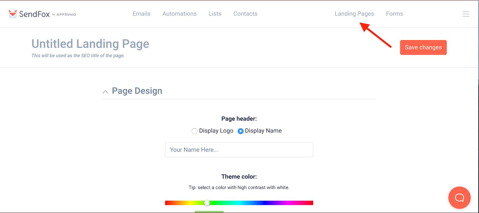 Sendfox email marketing tools