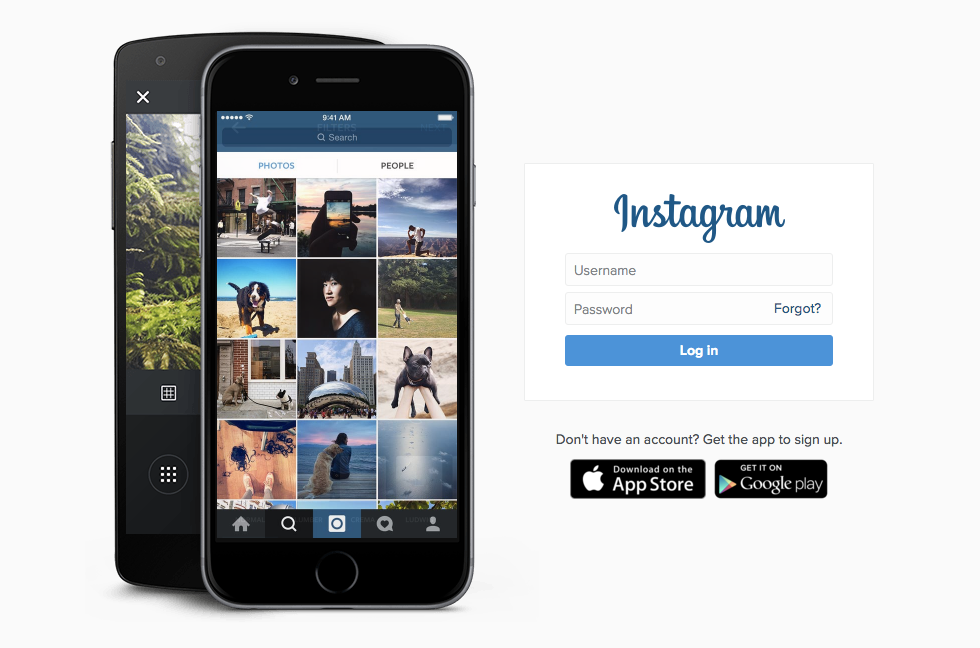 Instagram value proposition example