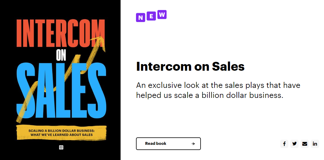 Ebook by Intercom