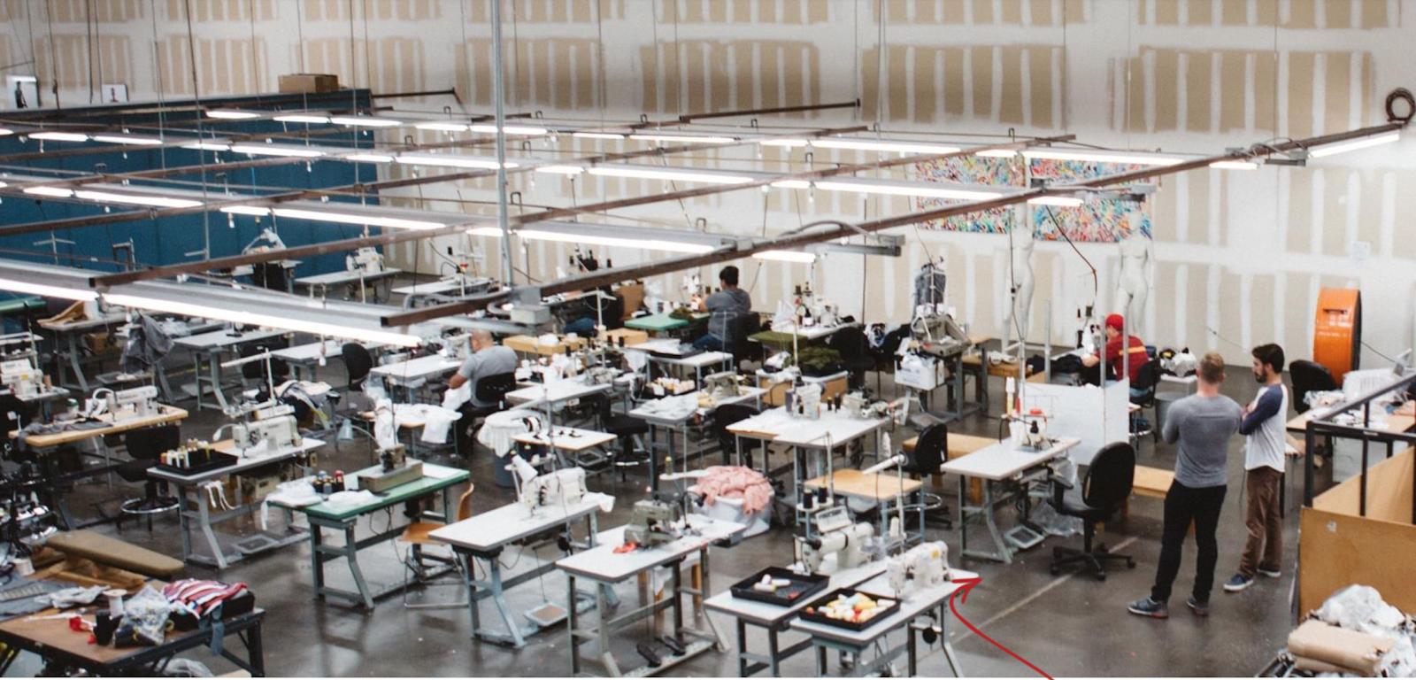 Screenshot showing Pistol Lake manufacturing site
