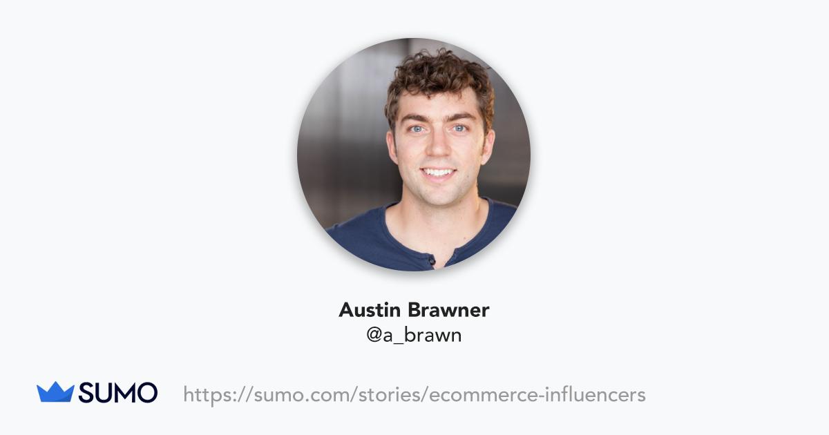 Screenshot of Austin Brawner