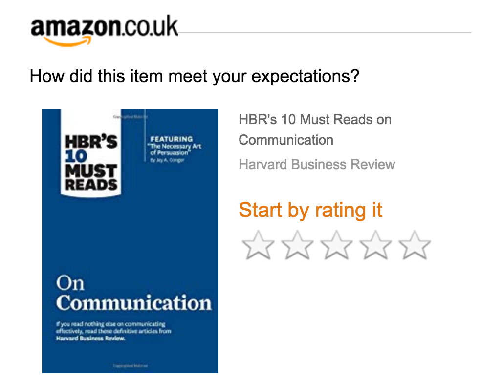 Screenshot showing Amazon review section