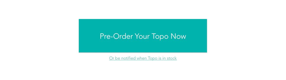 Screenshot of a pre-order button for Topo