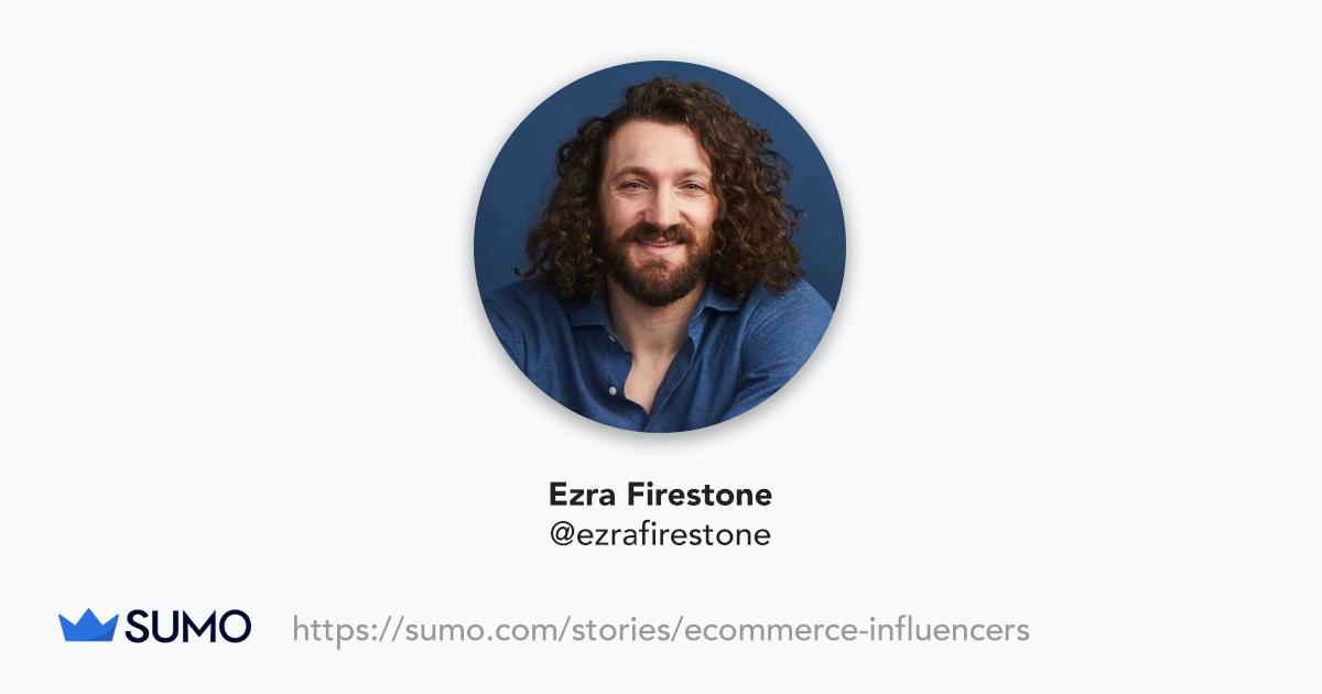 Screenshot of Ezra Firestone
