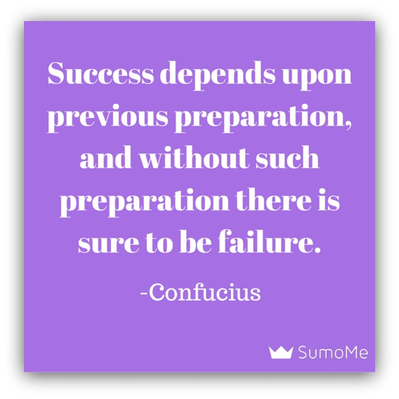Confucius preparation quote