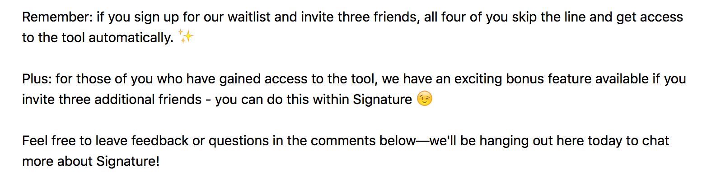 """Bonus feature -""""free tools"""" bucket."""