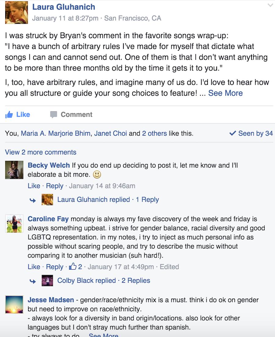 community curators facebook