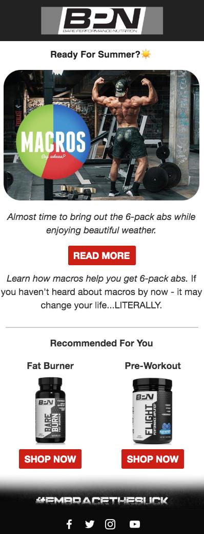 Screenshot of BPN Blog Post Promotion Email