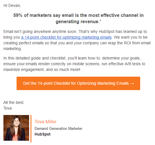 30 Brilliant Email Marketing Examples Best B2b B2c Examples