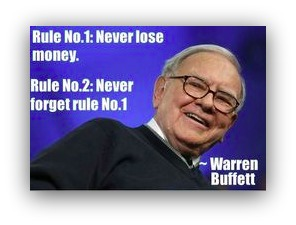 never lose money warren buffett