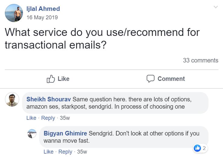 Herramientas de Autoresponder por correo electrónico: Testimonial de SendGrid