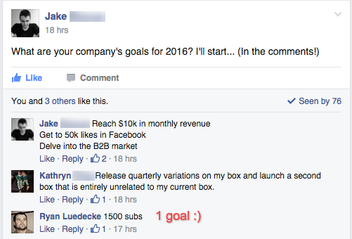 SumoJerky goals for 2016
