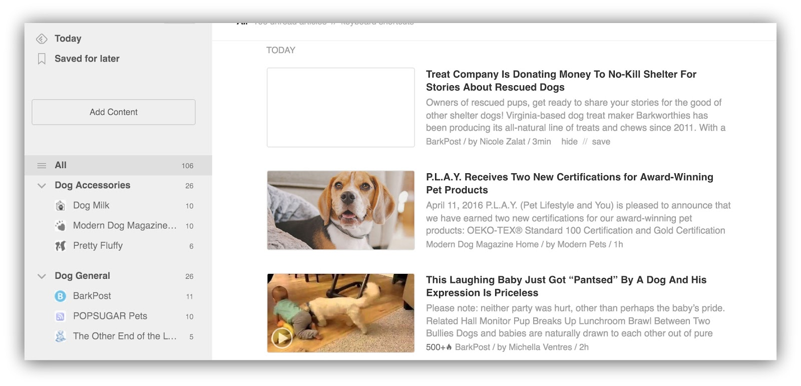 top dog blogs