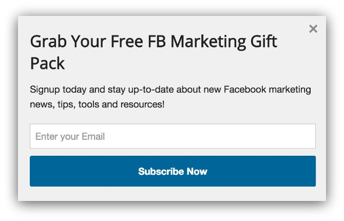 Opt-In Strategy For Blogs Based On Analyzing 400 Million Email Opt-Ins