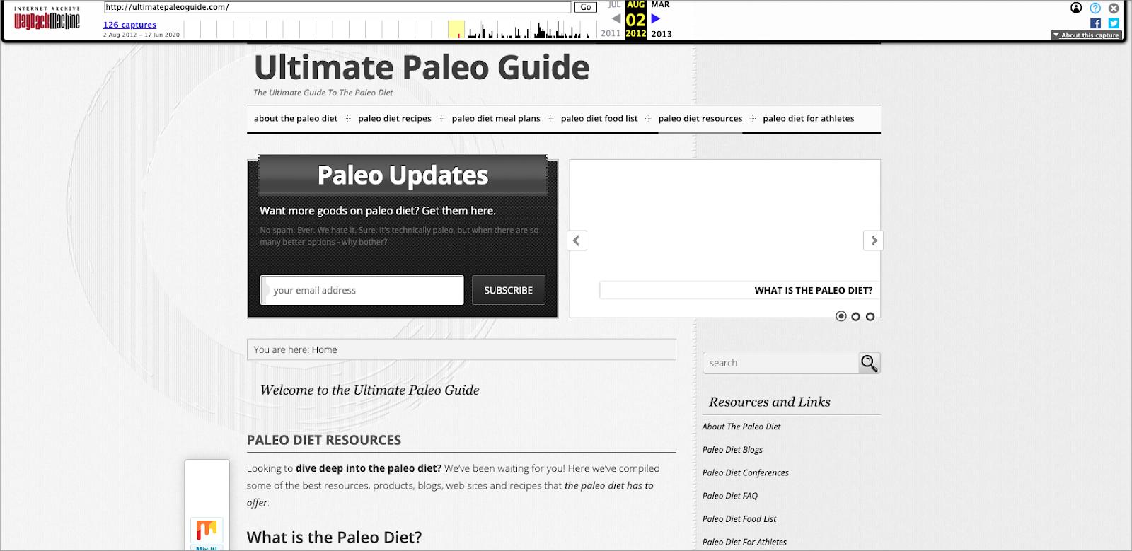 Ultimate paleo guide