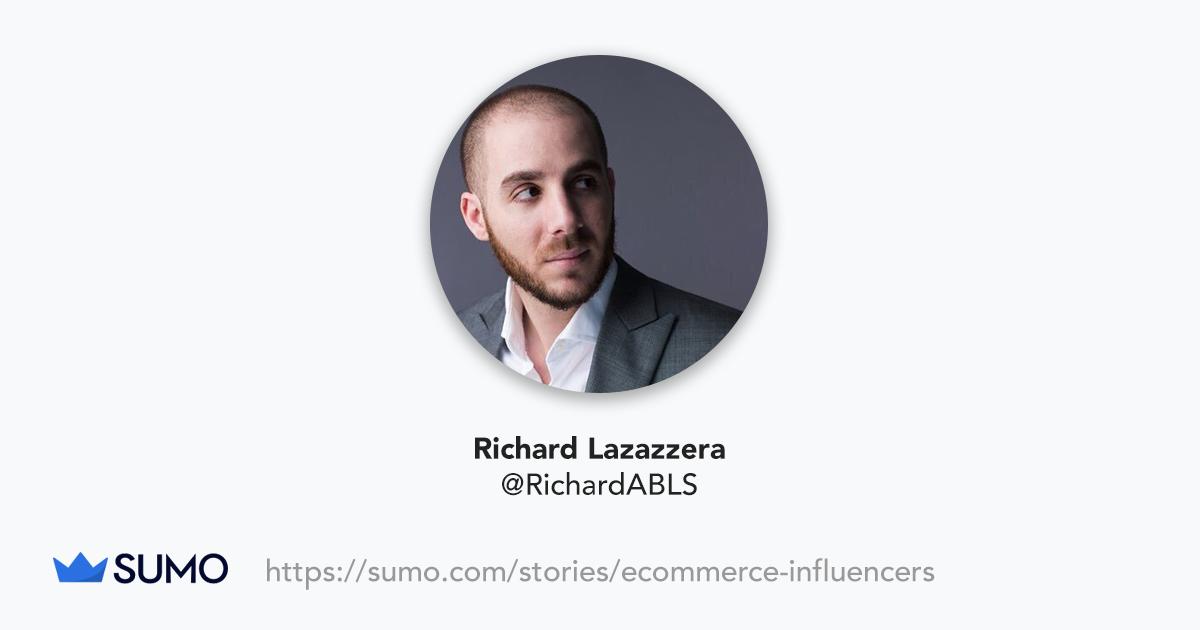 Screenshot of Richard Lazazzera