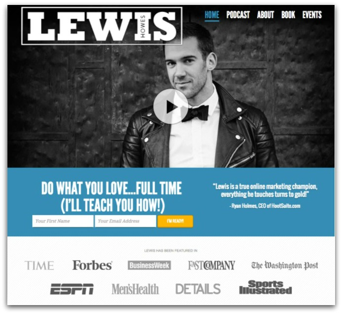 lewis howes email opt in