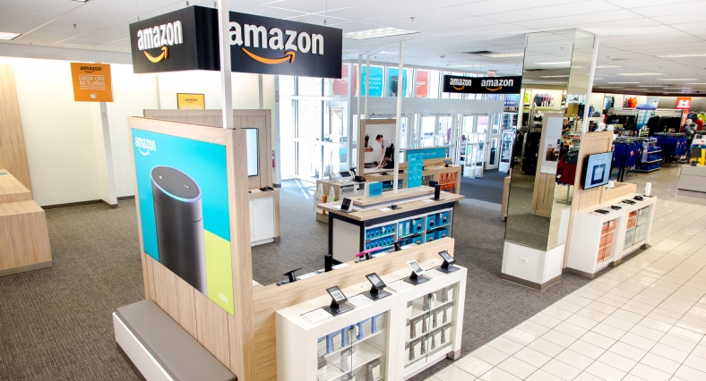 Screenshot showing an amazon retail store