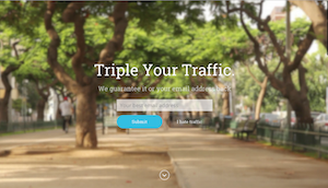 boring triple your traffic