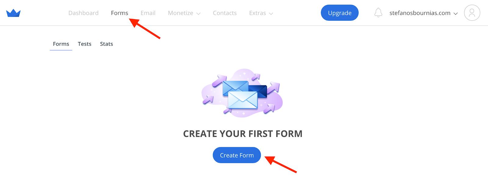Sumo.com and create a form.