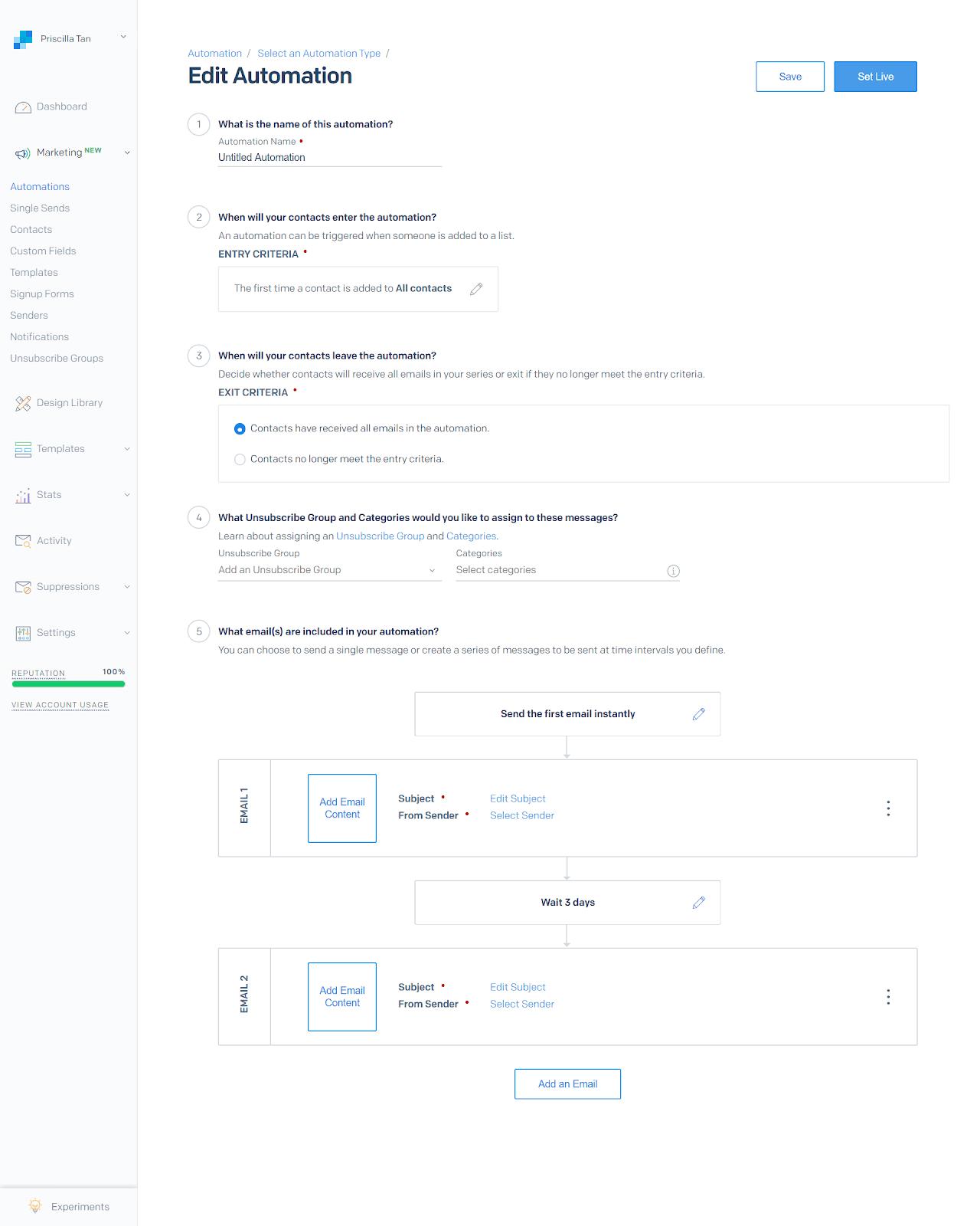 Email Autoresponder Tools: SendGrid