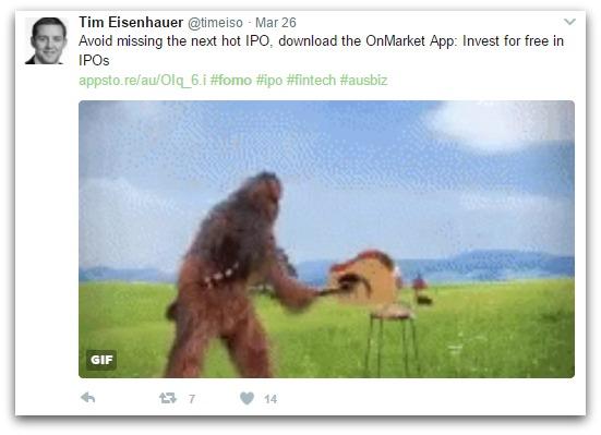 tim eisenhauer tweet