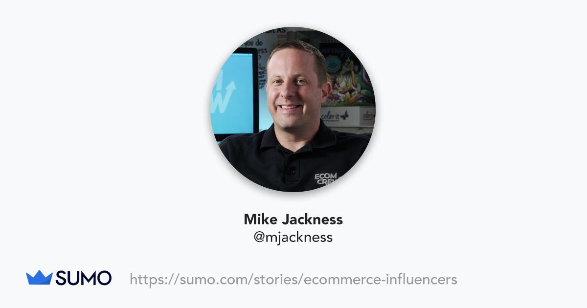 Screenshot of Mike Jackness