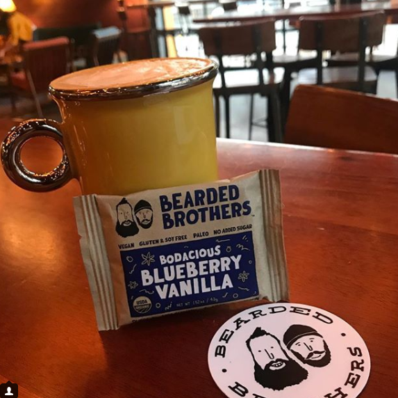 Screenshot showing a bearded brothers bar