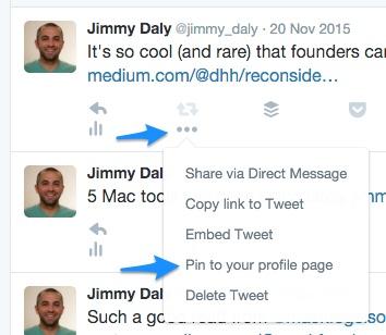 testing pinned tweets