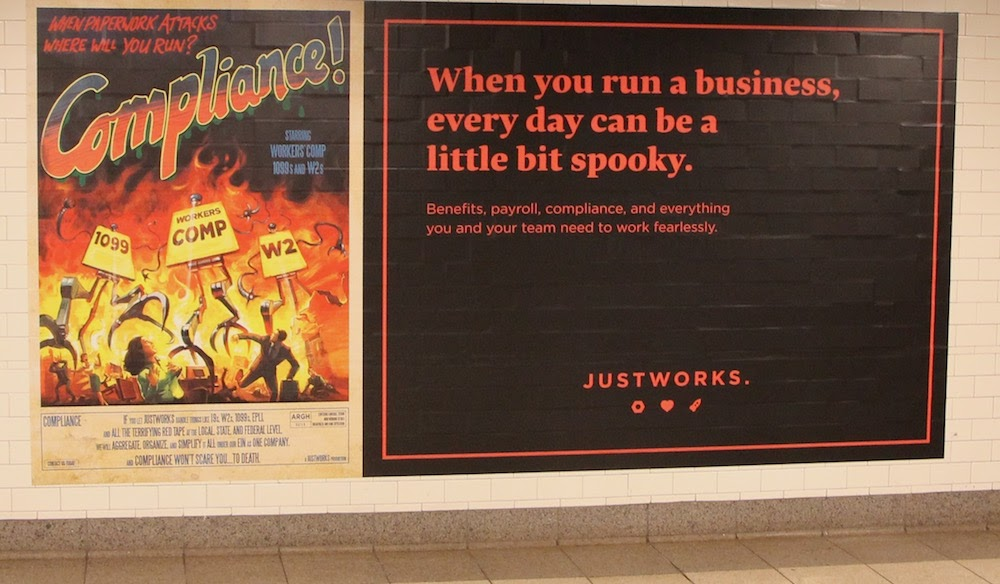 Poster from Justworks